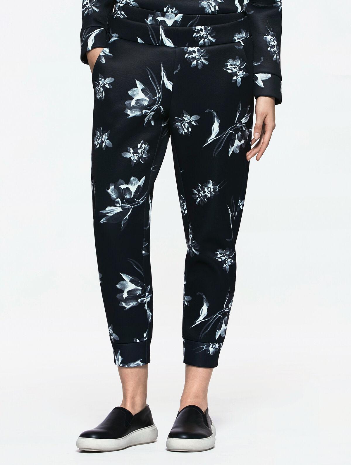 Perfect Stylish 2015 Women Joggers Floral Print Jogger Pants View Custom