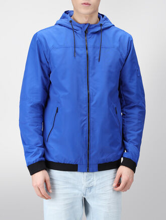 CALVIN KLEIN ABERASH HOODED JACKET