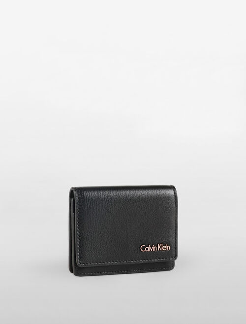 CALVIN KLEIN WORKMAN FLAP CARD HOLDER