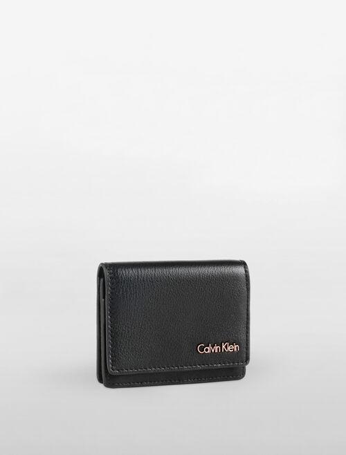 CALVIN KLEIN WORKMAN FLAP CARD HOLDER