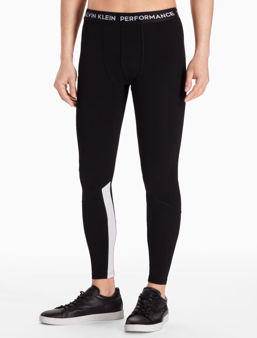 CALVIN KLEIN FULL-LENGTH LEGGINGS WITH LOGO WAISTBAND