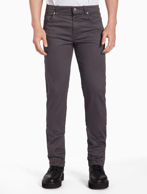 CALVIN KLEIN 5-POCKET TWILL PANTS