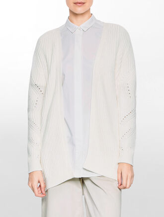 CALVIN KLEIN SALLY LONG SLEEVES CARDIGAN