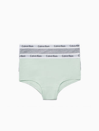 CALVIN KLEIN GIRLS 2 PACK SHORTY