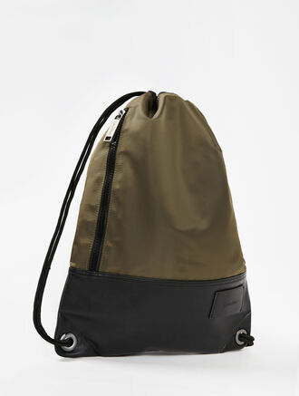 CALVIN KLEIN GEARED DRAWSTRING BACKPACK