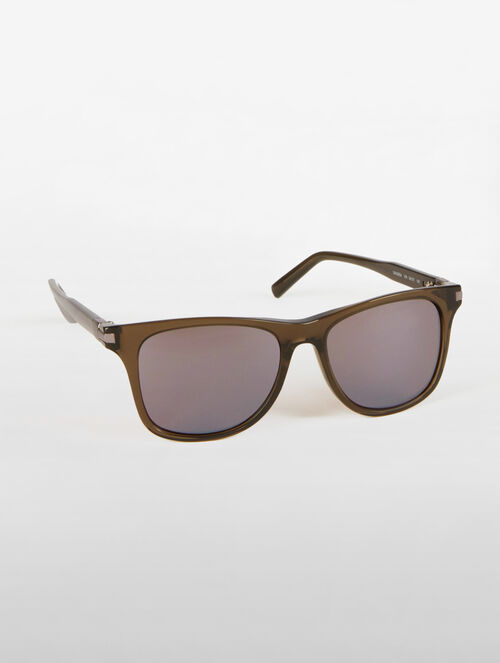 CALVIN KLEIN DEEP RECTANGLE SUNGLASSES