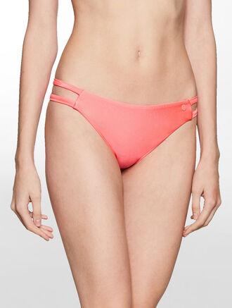 CALVIN KLEIN Bikini Bottom - Core Placed Logo