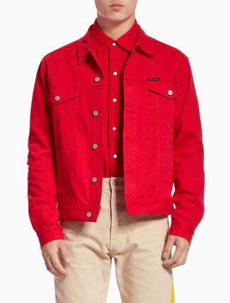 CALVIN KLEIN 클래식 트럭커 재킷