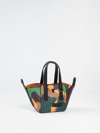 CALVIN KLEIN ULTRA LIGHT DARCY REVERSIBLE MICRO TOTE