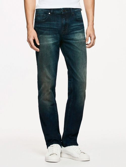 CALVIN KLEIN WEST END BLUE WASH BODY FIT JEANS