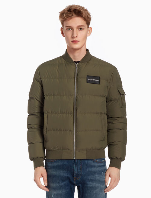 CALVIN KLEIN LIGHTWEIGHT DOWN BOMBER JACKET