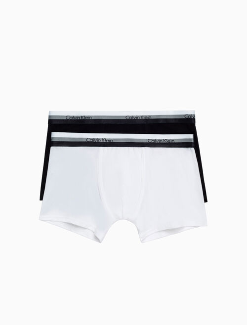 CALVIN KLEIN BOYS 2 PACK BOYS TRUNK