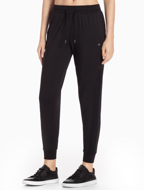 CALVIN KLEIN SWEAT PANTS WITH RIBBED HEMS