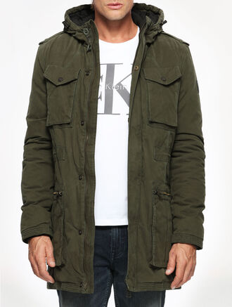 CALVIN KLEIN OFFSHR HD LNG PD JACKET