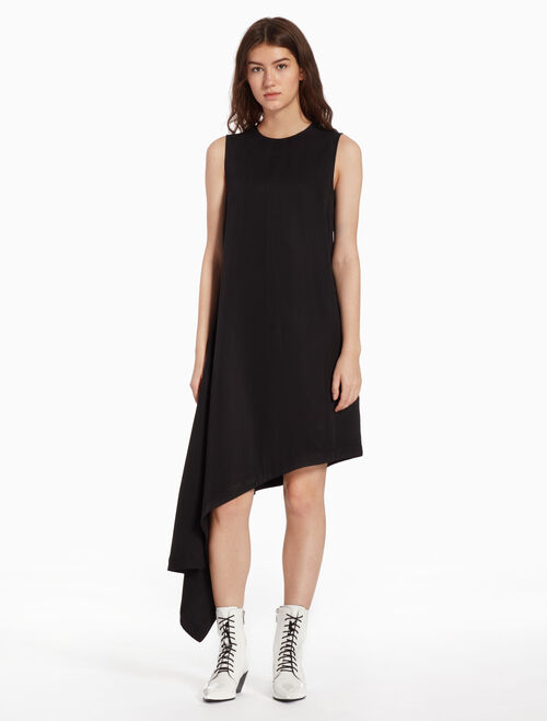 CALVIN KLEIN ASYMMETRIC BANDANA DRESS