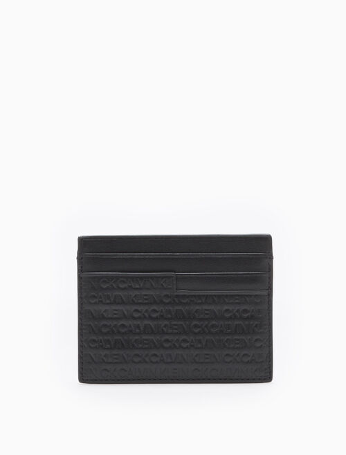 CALVIN KLEIN ALL-OVER LOGO CLASSIC CARDCASE