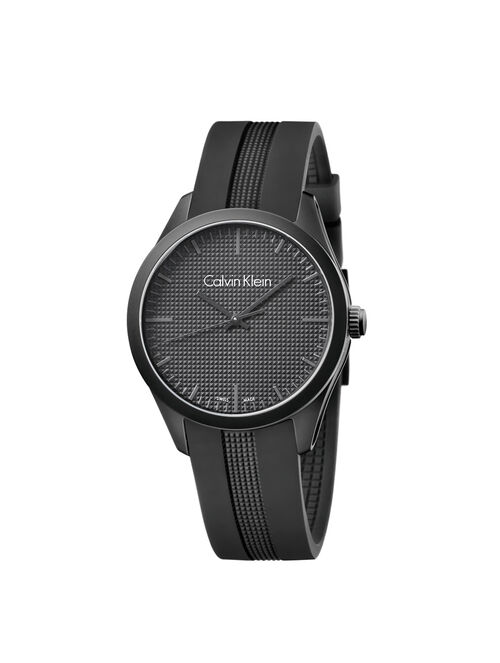 CALVIN KLEIN BLACK COLOR PERFORMANCE WATCH
