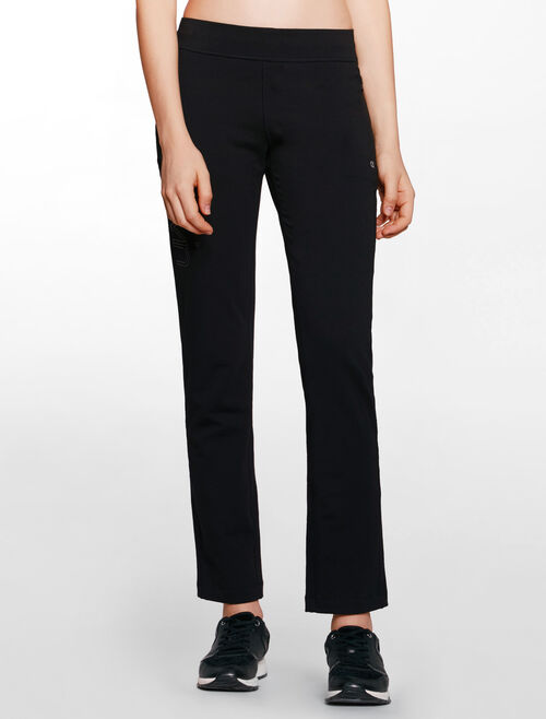 CALVIN KLEIN LGOO WAISTBAND FRENCH TERRY SWEAT PANT