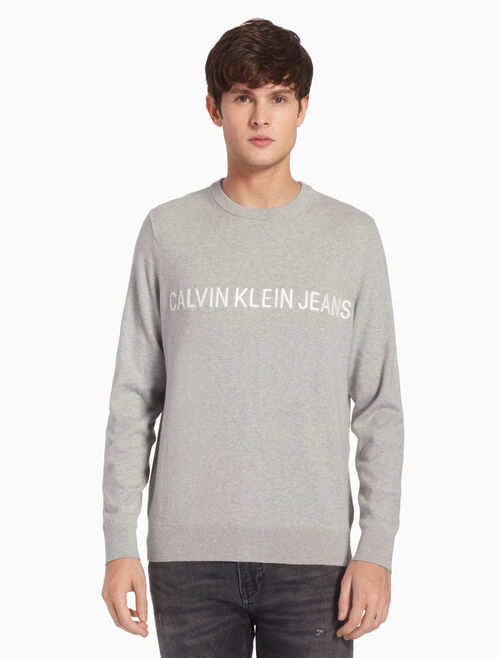 CALVIN KLEIN CASHMERE INSTITUTIONAL PULLOVER JUMPER