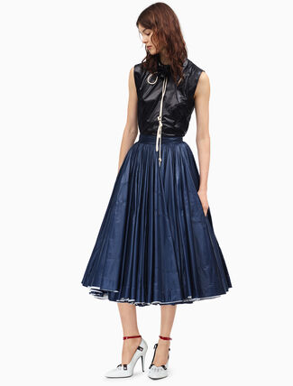 CALVIN KLEIN couture tent skirt