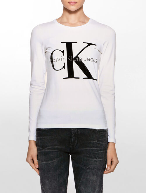 CALVIN KLEIN TARA 4 REISSUE LONG SLEEVES T-SHIRT