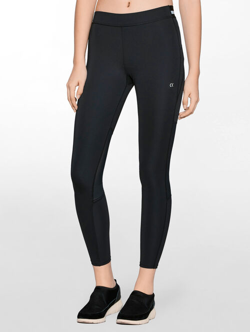 CALVIN KLEIN REGULAR RISE LEGGING WITH ELASTIC WAISTBAND