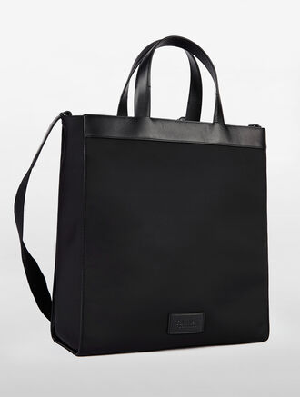 CALVIN KLEIN ENGINEERED NYLON GROUP MEDIUM TOTE