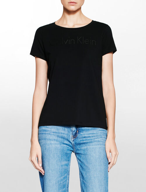 CALVIN KLEIN INSTITUTION LOGO TEE