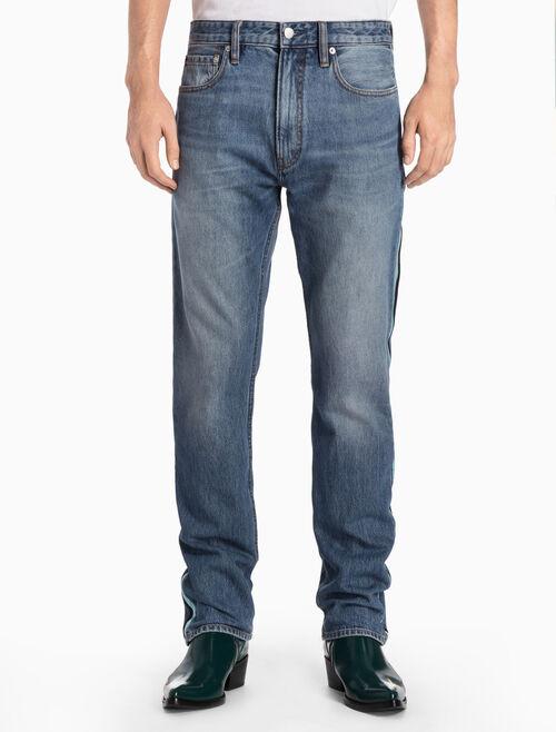 CALVIN KLEIN Lyon Blue Straight Jeans