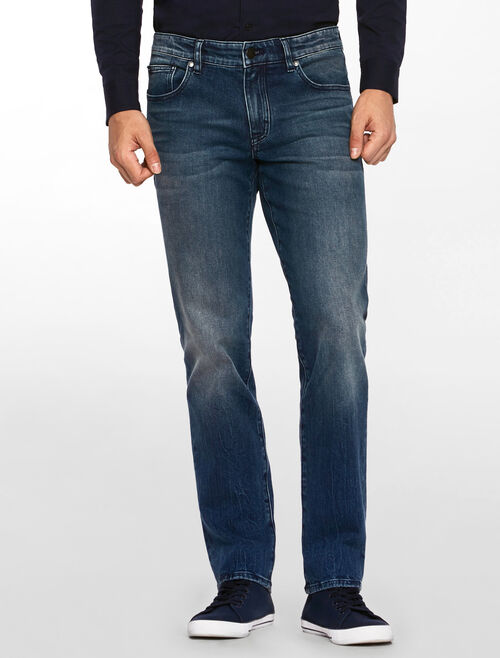 CALVIN KLEIN MOUNTAIN BLUE BODY JEANS
