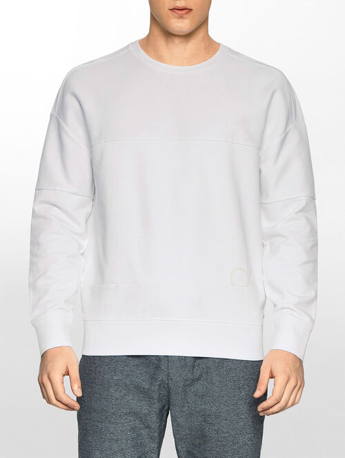 CALVIN KLEIN TONAL COLOUR BLOCK SWEATSHIRT