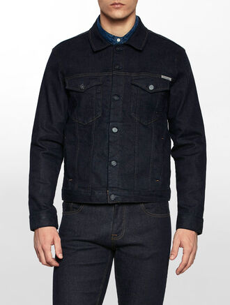 CALVIN KLEIN SELVEDGE DENIM CLASSIC JACKET