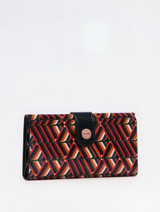 CALVIN KLEIN CITY GRID STACKED PRINT CARD PHONE CASE