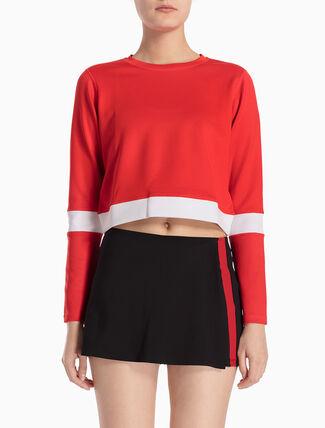 CALVIN KLEIN COLOR BLOCK プルオーバー スウェットシャツ