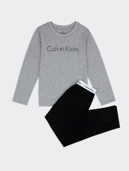 CALVIN KLEIN INTENSE POWER KNIT PAJAMA SET