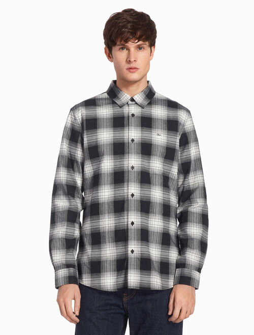 CALVIN KLEIN BUFFALO CHECKED SHIRT