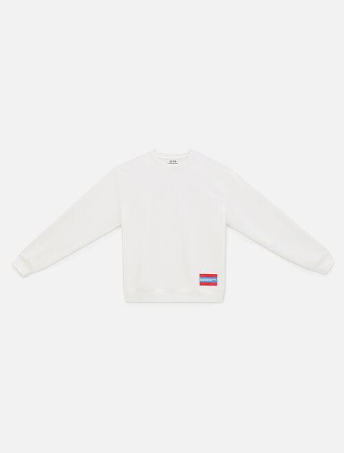 CALVIN KLEIN Est 1978 Small Patch Crewneck Sweatshirt