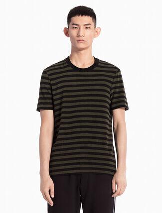 CALVIN KLEIN KNITTED STRIPE 티셔츠