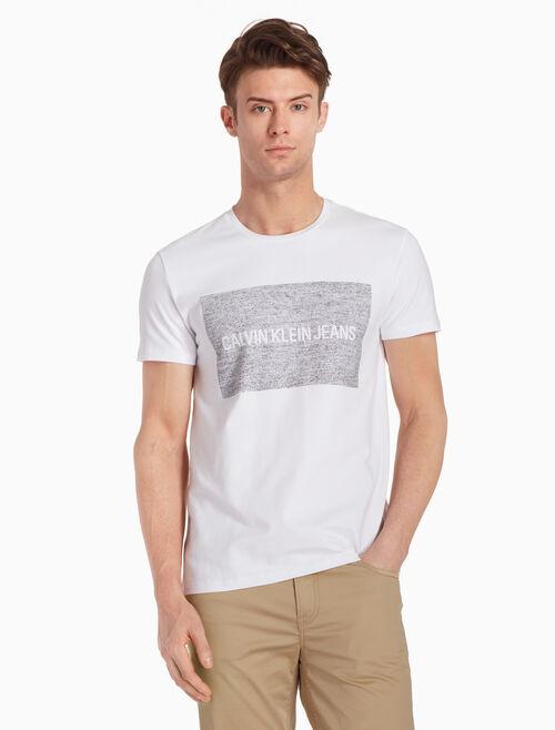 CALVIN KLEIN 인스티튜서널 빈티지 박스 로고 티셔츠