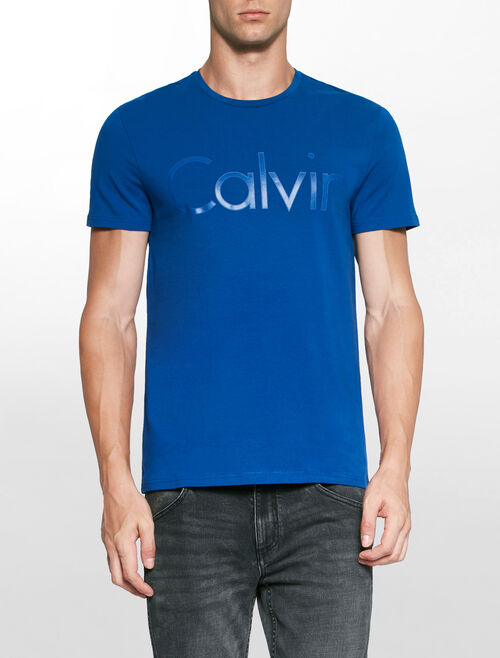 CALVIN KLEIN OUTLINED LOGO TEE
