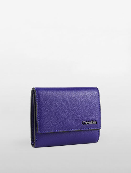 CALVIN KLEIN WORKMAN MEDIUM TRI FOLD WALLET