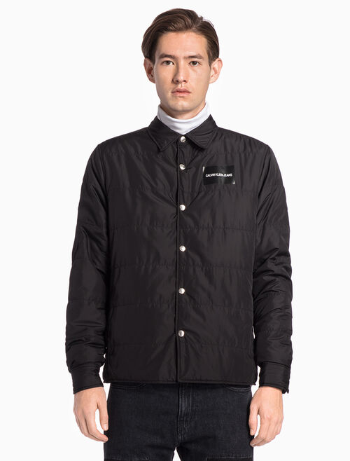 CALVIN KLEIN LIGHTWEIGHT DOWN SHIRT JACKET
