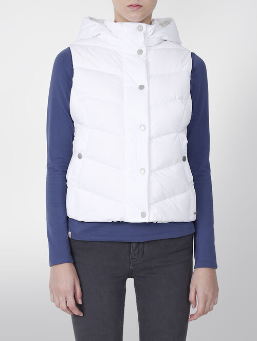 CALVIN KLEIN HOODED DOWN VEST