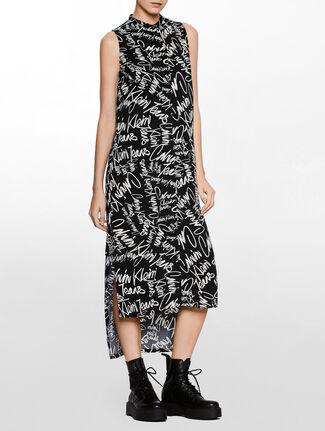 CALVIN KLEIN NEW DECLA 2 SHIRT DRESS