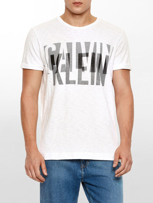 CALVIN KLEIN RELAXED FIT LOGO TEE