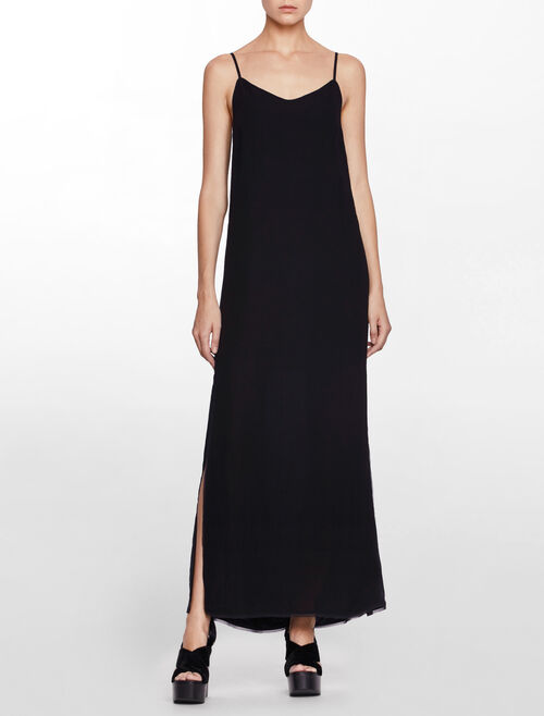 CALVIN KLEIN DAWN MAXI SLIP DRESS