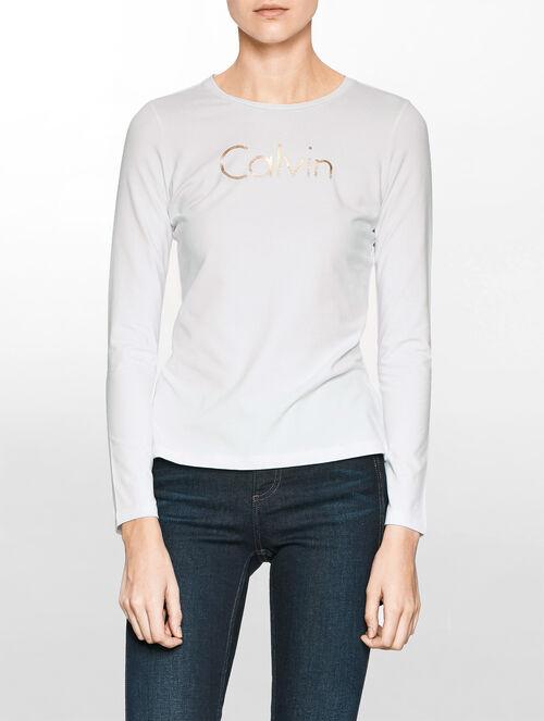 CALVIN KLEIN ロゴプリントTシャツ