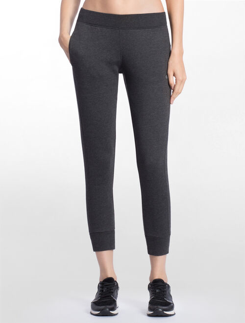 CALVIN KLEIN SWEAT PANTS WITH RIBBED WAIST