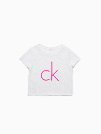 CALVIN KLEIN GIRLS CROP TOP