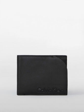 CALVIN KLEIN HIDDEN CAMO PULL OUT BILLFOLD